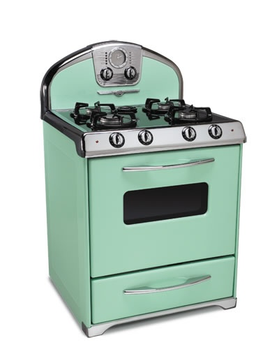 I will own this somedayVintage Stoves, Mint Green, 1955 Mint, House Ideas, Mint Conditioning, Modern Kitchens, Retro Style, Northstar Range, Retro Kitchens