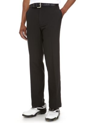 Greg Norman Collection Men's Classic-Fit Comfort Waist Stretch Pant - Black - 38 X 32