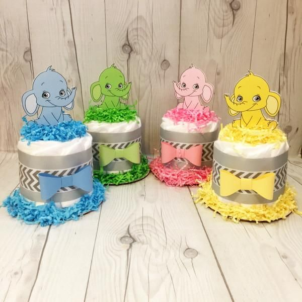 25+ Best Ideas About Mini Diaper Cakes On Pinterest