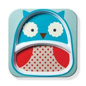 Skip Hop Zoo Tableware - Owl Plate