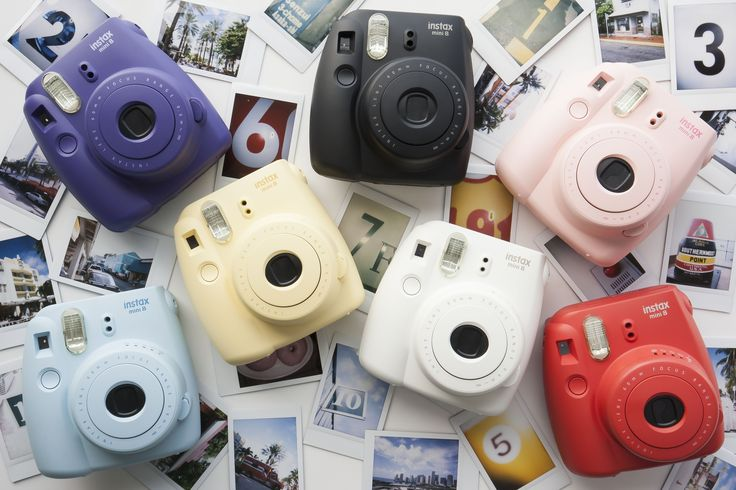 The Fujifilm Instax Mini 8 is the perfect camera for the style-conscious photographer in your life. It's compact, easy to use, and comes in an assortment of complementary colors. It's easy to slip into a pocket or purse for family gatherings, vacations, or everyday use.