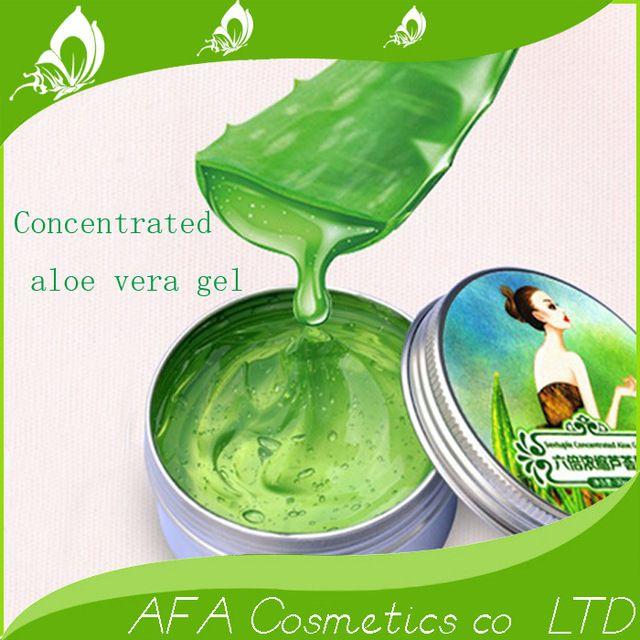 Seis veces más concentrado de aloe vera gel acné perfectamente natural crema de cara 30G envío gratis A48