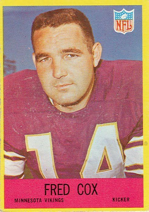 1967 Football Cards: Minnesota Vikings
