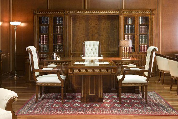 """Кабинет """"Art & Lux"""" - офисная мебель Арт & Люкс для кабинета руководителя"""