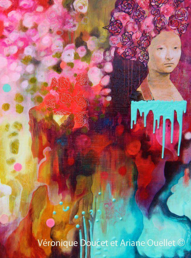 Ariane Ouellet / La Boutique des arts CULTURAT  http://culturat.org/boutique/items/chaque-rose-a-son-epine