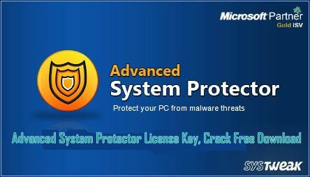 Advanced System Protector License Key, Crack Free Download