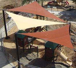 sun sail - to cover patio of Level 1 or in front of BHC