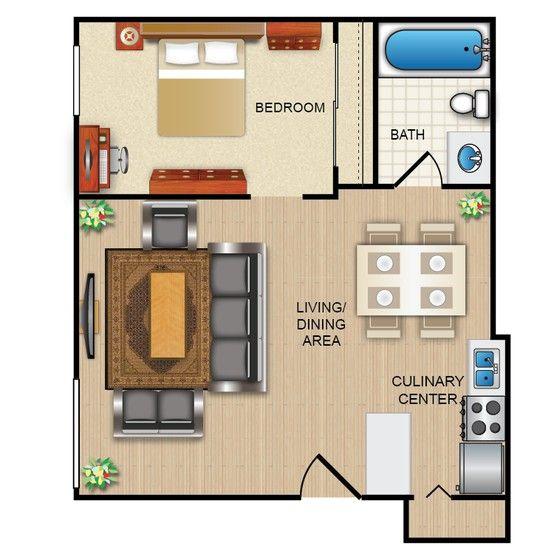 20 best floor plans images on pinterest for Apartment model plans