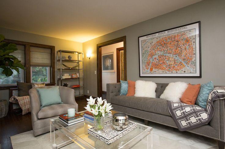 Olivia & Daniel's LIVING ROOM REVEAL | Buying & Selling