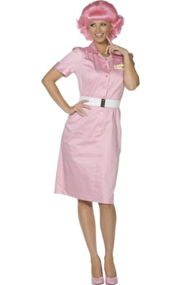 Official Grease Beauty School Dropout Costume