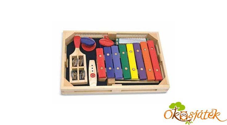 Hangszerek gyerekeknek - Melissa Doug hangszer szett 11318 (ME)