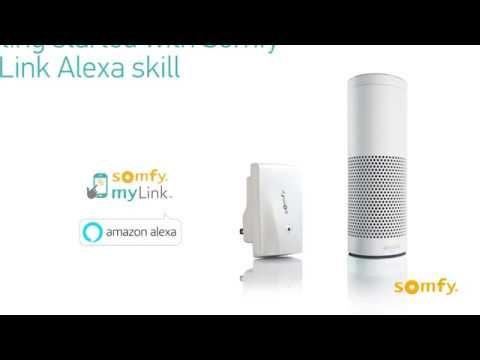 Setting up Somfy's myLink Amazon Alexa Skill | Somfy How To