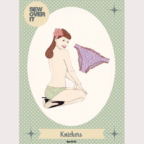 Knickers Sewing Pattern by Sew Over It