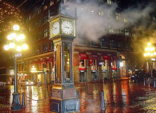 Gastown Steam Clock, Vancouver, BC