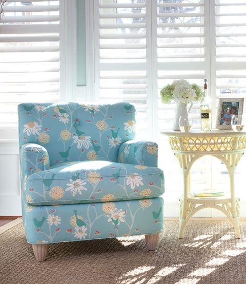 Sunny Disposition Living Room | Maine Cottage #coastalfurniture