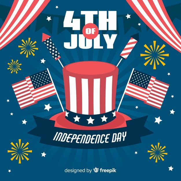 Download Fourth Of July For Free American Flag Background Fourth Of July Vector Free
