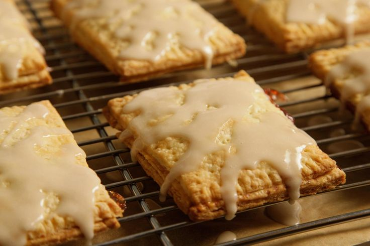 Frosted Strawberry Pop Tarts Recipe, because sonny doesn't want to get leukemia from real pop tarts