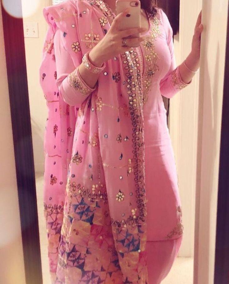 Pinterest: @pawank90 #IndianFashion #PunjabiLadiesSuits