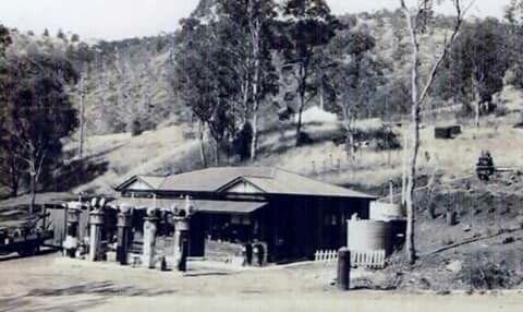 Log cabin servo on Range Road