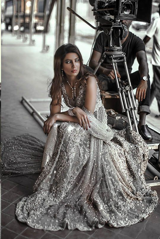 The Elan by Khadijah Shah latest bridal shoot is out now and it is heart stopping! Rabia Butt shines like a diamond in brilliant crystalline silhouettes and you can see the designer is trying to push the boundaries for modern day bridals. Khadijah may have a restrained pallette when it comes to colors for her […]