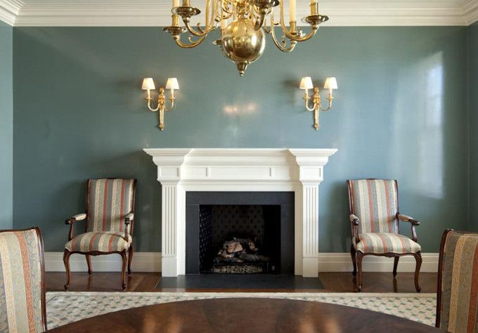 Murdock Solon Architects - Fifth Avenue Residence - Living Room / Fireplace
