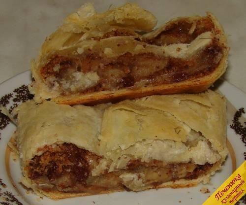 Венский штрудель (пошаговый рецепт с фото) — Кулинарный портал Печенюка