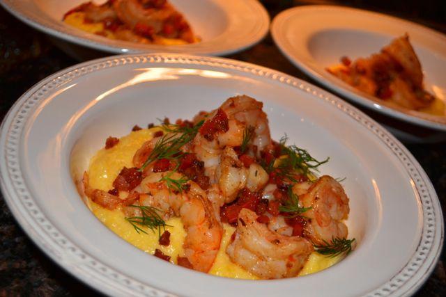 ... and pancetta mushroom and pancetta soup shrimp and pancetta on polenta
