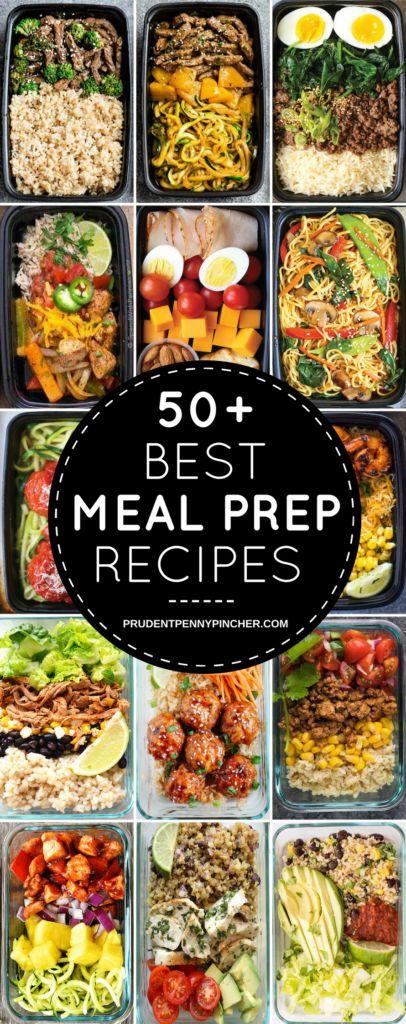 Bereiten Sie Ihre Mahlzeiten für die Woche mit diesen gesunden und einfachen Zubereitungsrezepten vor. T …   – Diet