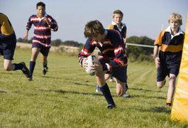 Rugby is a strenuous contact sport similar to American football, with two teams kicking, throwing and carrying the ball across the field in an attempt to score. Games last 80 minutes, and players require a significant amount of strength, speed and endurance on the field. Approaching your rugby game in the right frame of mind can keep your body...