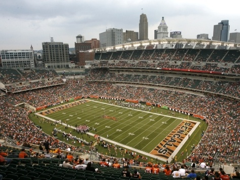 Rams Bengals Football: Cincinnati, OHIO - Paul Brown Stadium