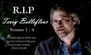 R.I.P to True Blood's Terry Bellefleur (played by Todd Lowe)