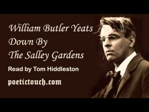 down by the salley gardens by william butler yeats Down by the salley gardens my love and i did meet she passed the salley gardens with little snow-white feet she bid me take love easy, as the leaves grow on the tree.