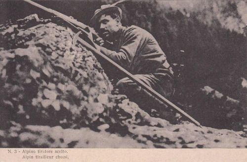 Angelo Schiocchet, il Diavolo delle Tofane: italian sniper during WWI