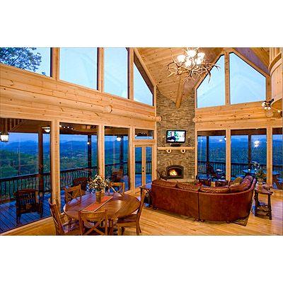 Escape to Blue Ridge Cabin - Glass Lodge. 3/3.5. Hot tub. $325/night