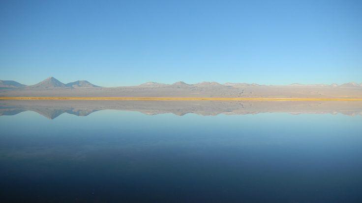 Laguna Tebinquinche en San Pedro de Atacama. Foto de Eduardo Sanhueza Méndez.