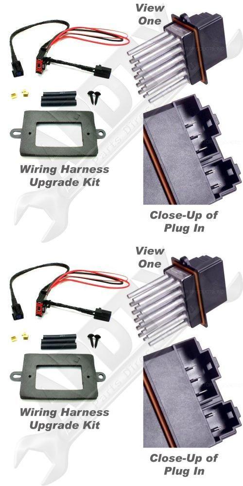 APDTY 5179985AA & 68052436AA Blower Motor Resistor Power
