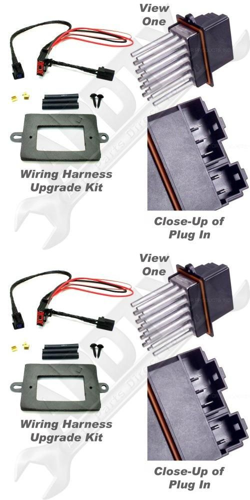 jeep grand cherokee engine wiring harness  apdty 5179985aa 68052436aa blower motor resistor power module on 2004 jeep grand cherokee engine wiring harness