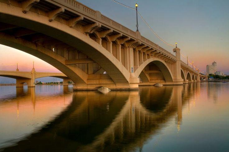 Mill Avenue Bridge....Tempe, Arizona: Temp Bridges, Mills Avenu, Deus Arizona, Temp Arizona, Bridges Temp, Avenu Bridgetemp, Dusk, Avenu Bridges, Flour Mills