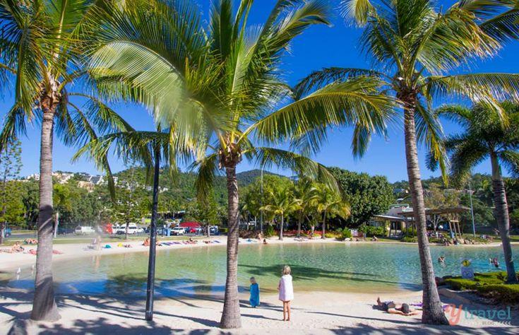 Airlie Beach Lagoon, Queensland, Australia