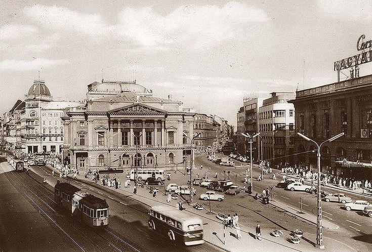 Belváros, Budapest: Blaha Lujza átépítés előtt