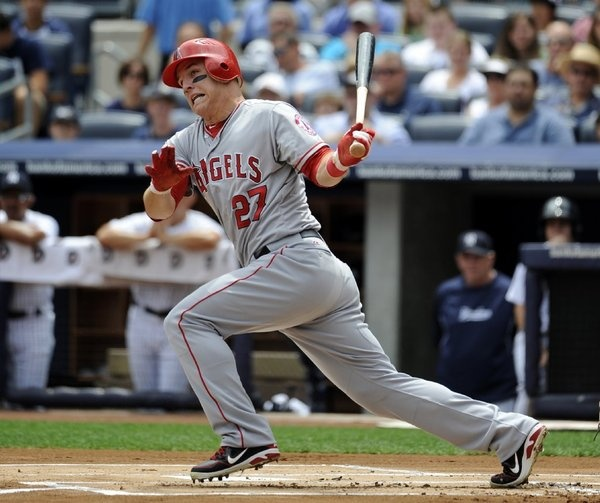 Congrats Mike Trout - 2012 Rookie of the Year - #angels #baseball #trout #rookie