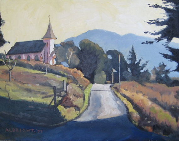 a beautiful piece of one of my favorite spots - the lost coast.: Beauty Piece, Landscape Paintings, Lost Coast, Favorit Spots, Beauty Work