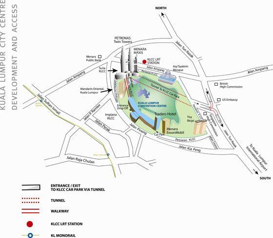 Carte de Kuala Lumpur
