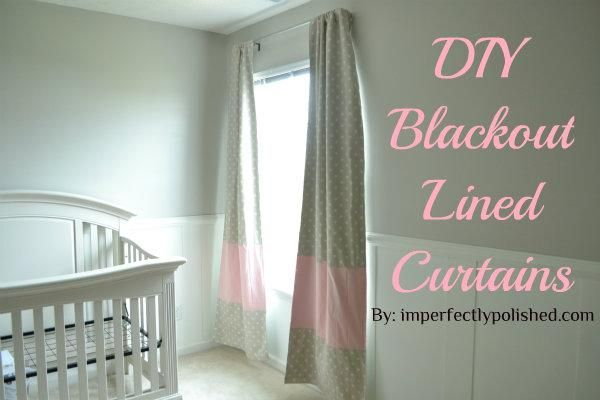 DIY Blackout Lined Curtains DIY Curtains DIY Home DIY Decor | for the ...
