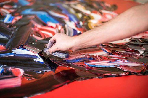 大きなパレットナイフと油絵の具の厚い塊で2D3Dと言っても良いような描画するテヘランに拠点を置くアーティストSalman Khoshroo。  これらの作品のほとんどは、コンピュータやモバイル・スクリーン上のスケールでは彼の作品の良さが伝わらない可能性がある。 ここに...