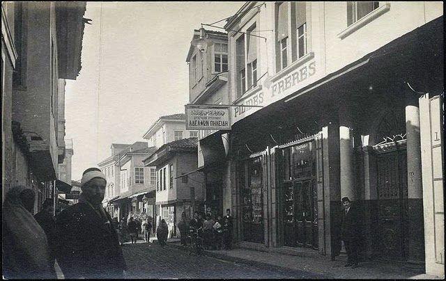 1910lar Edirne çarşı içi