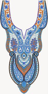 Stylish Neck Embroidery Designs Collection - Embdesigntube