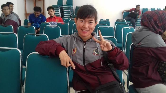 Kenalkan, Karateka Wanita Asal Pangkep di PON XIX Bandung