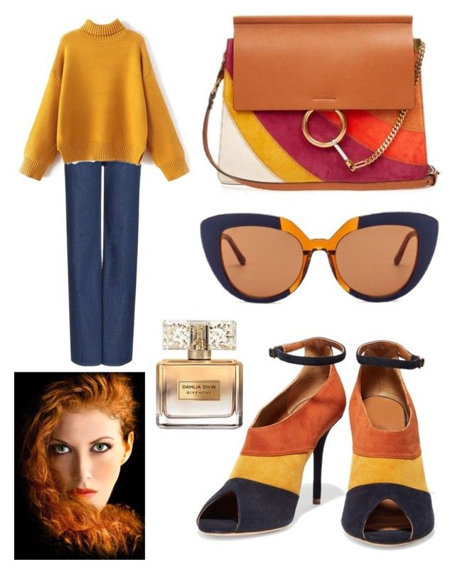 """""""Senza titolo #458"""" by kirsten-weigh on Polyvore featuring moda, Chloé, Malone Souliers, Marni, Wood Wood e Givenchy"""