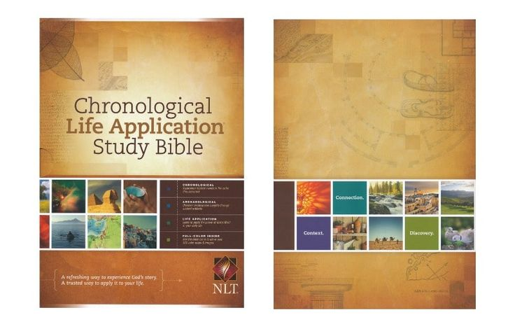 Tyndale Chronological Life Application Study Bible NLT Review – The new four-color Chronological Life Application Study Bible combines the proven resources of the Life Application Study Bible with a chronological format and several brand-new resources.                                      ...